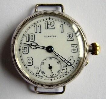 1915 wristwatch. Electa 250